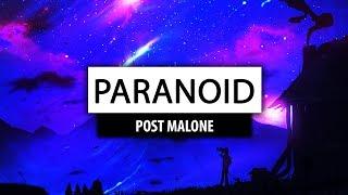 Post Malone ‒ Paranoid (Lyrics) 🎤 [Jordan Bazza Cover]