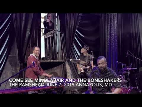 Come See Mindi Abair & The Boneshakers @ The Ramshead June 7, 2019 Annapolis, MD