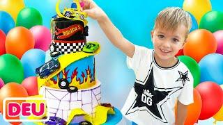 Alles Gute Zum Geburtstag Niki! Kindergeburtstagsfeier mit Vlad, Diana und Roma
