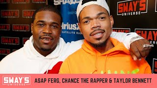 ASAP Ferg, Chance the Rapper & Taylor Bennett Trade Bars In Off Top Freestyle | SWAY'S UNIVERSE