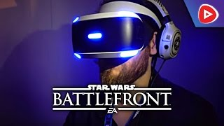 GAMESCOM 2016: So ist Star Wars Battlefront in Virtual Reality! | PLAYNATION TV