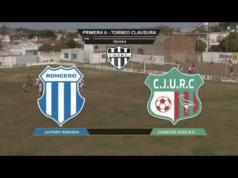 Lautaro Roncedo 1 Juventud Unida RC 0 - Fecha 8 - Clausura - LRFRC - 1er. Tiempo