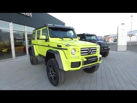 Mercedes Benz G500 4x4 Electric