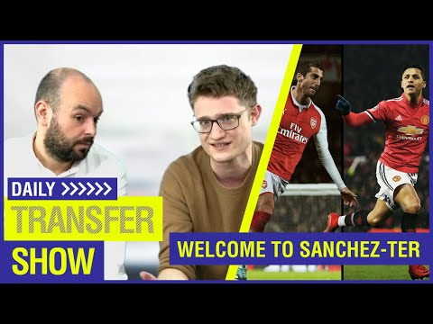 WELCOME TO SANCHEZ-TER UNITED! AUBA + MKHI TO ARSENAL