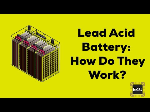 Working Principle of Lead Acid Battery