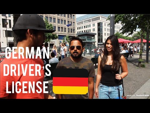 International drivers license neumarkt germany