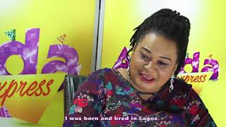 Rachael Oniga on Awada Express with Koffi Tha Guru