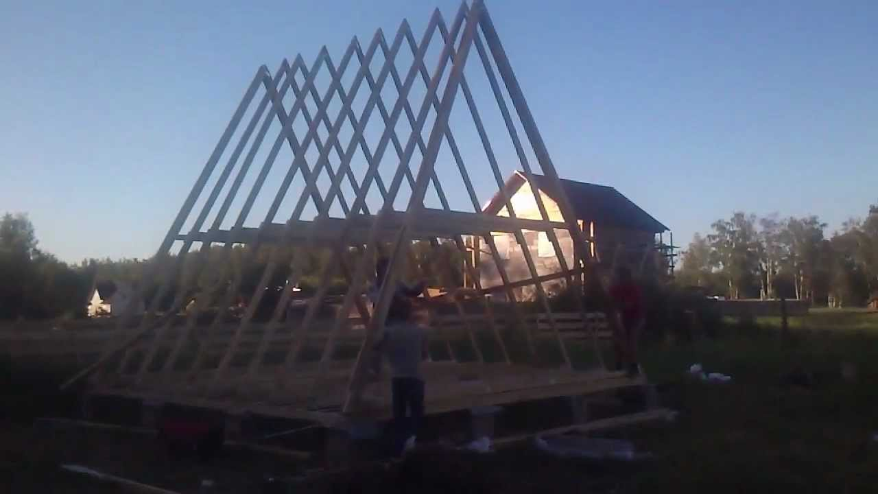 A frame house ii youtube A frame builders