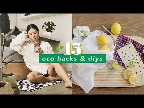 15 Eco Hacks & DIYs to Start a Sustainable Life