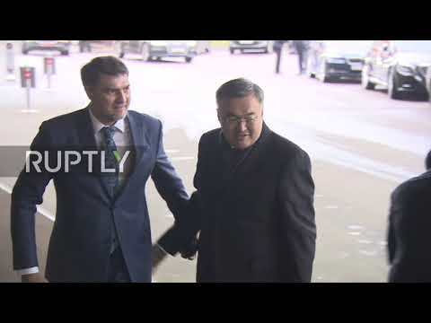 Russia: Delegates arrive at Moscow meeting on Afghanistan
