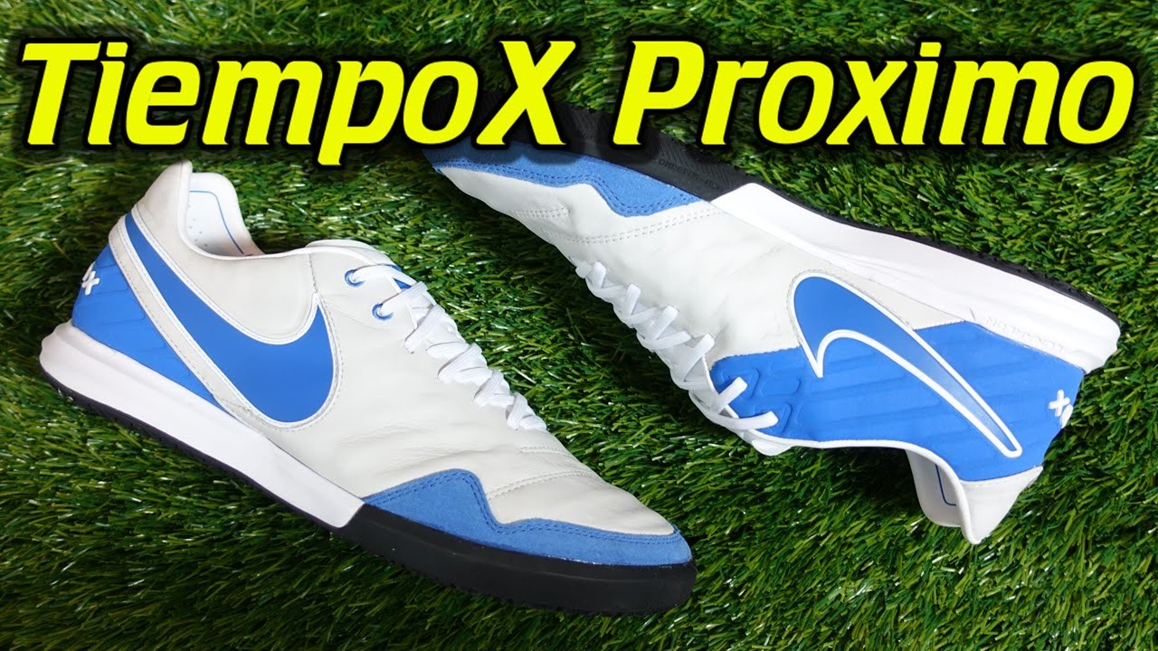 5f6d0d6c4b725c Nike TiempoX Proximo Indoor (Heritage Pack) - Review + On Feet - YouTube