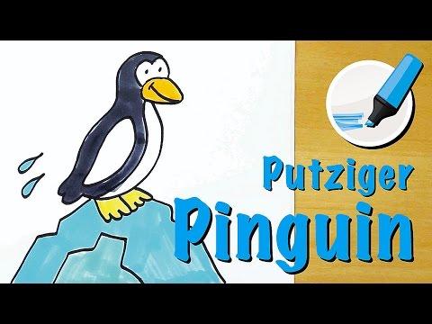 Pinguin Zeichnen Fur Kinder Myhiton