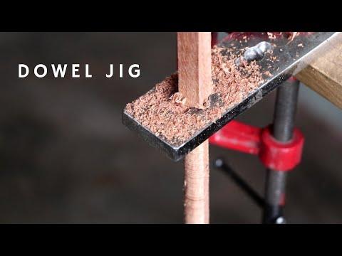 Make Useful DIY Tool    Making A Dowel Jig