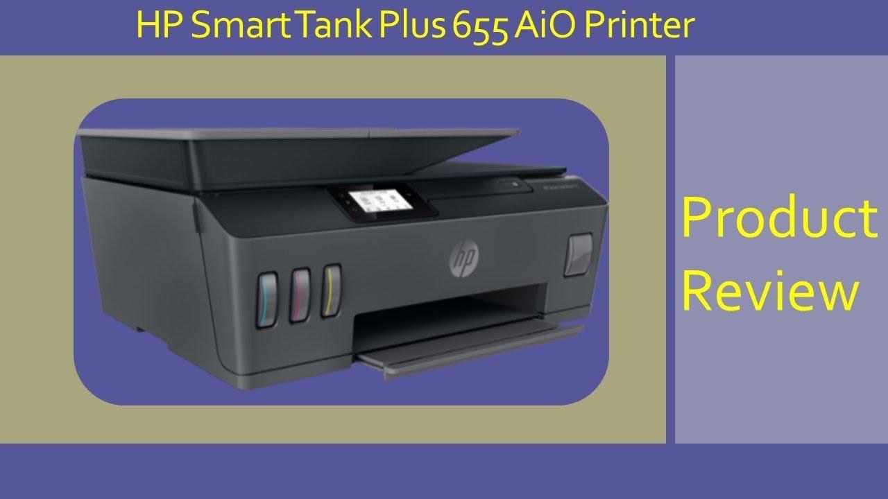 Hp Smart Tank 651 655 Printer Review Youtube