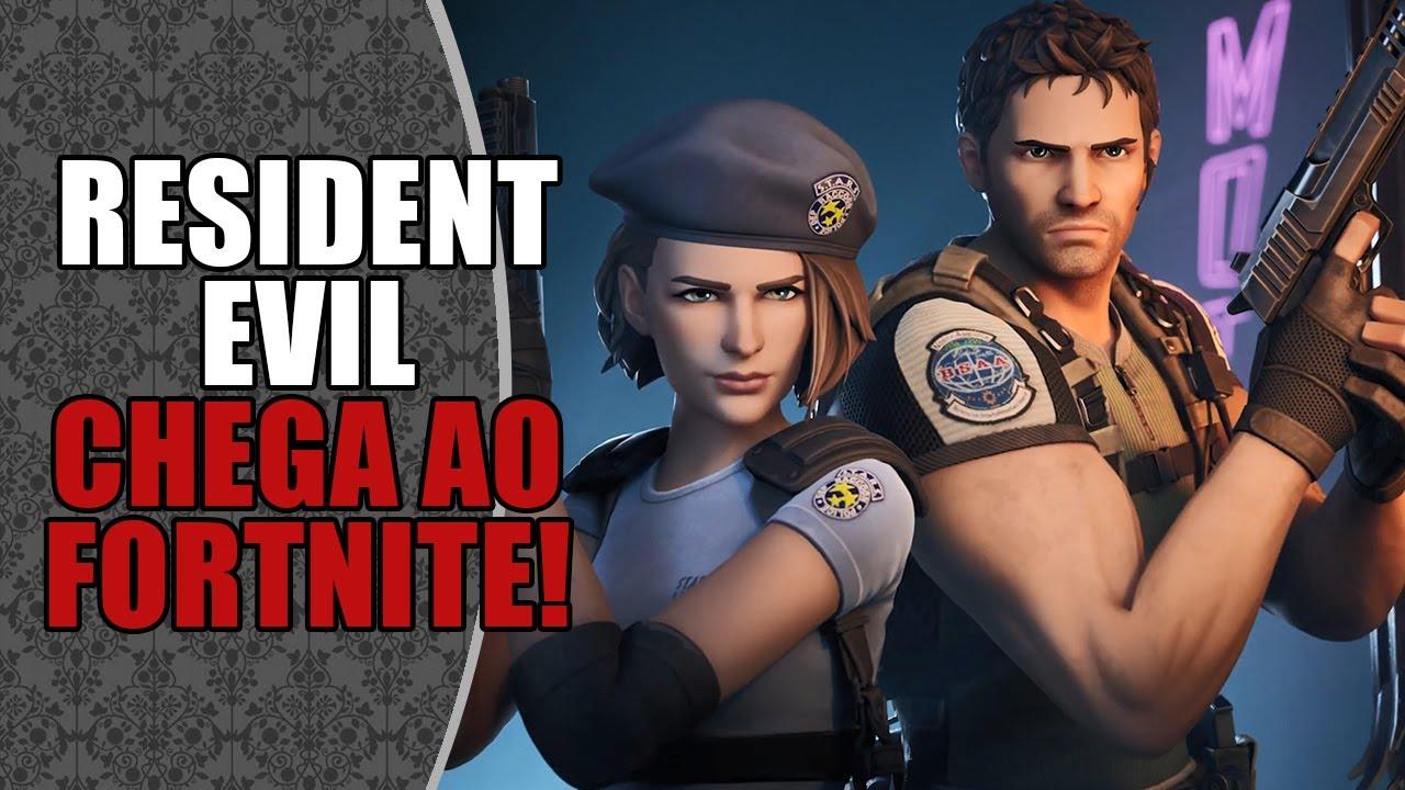 Resident Evil chega ao FORTNITE! 🥳   DATABASE NEWS