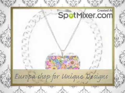 Europa shop For Unique Designer Jewellery online   www.Europashop.co.uk
