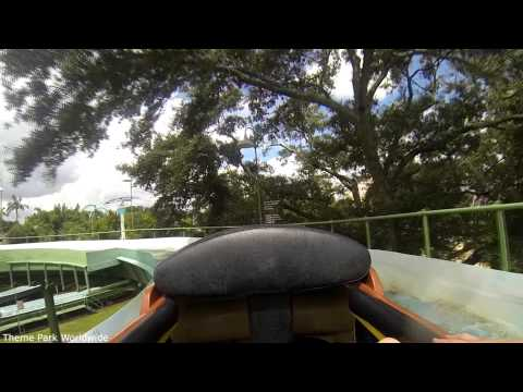 Stanley Falls On Ride HD POV Busch Gardens Tampa