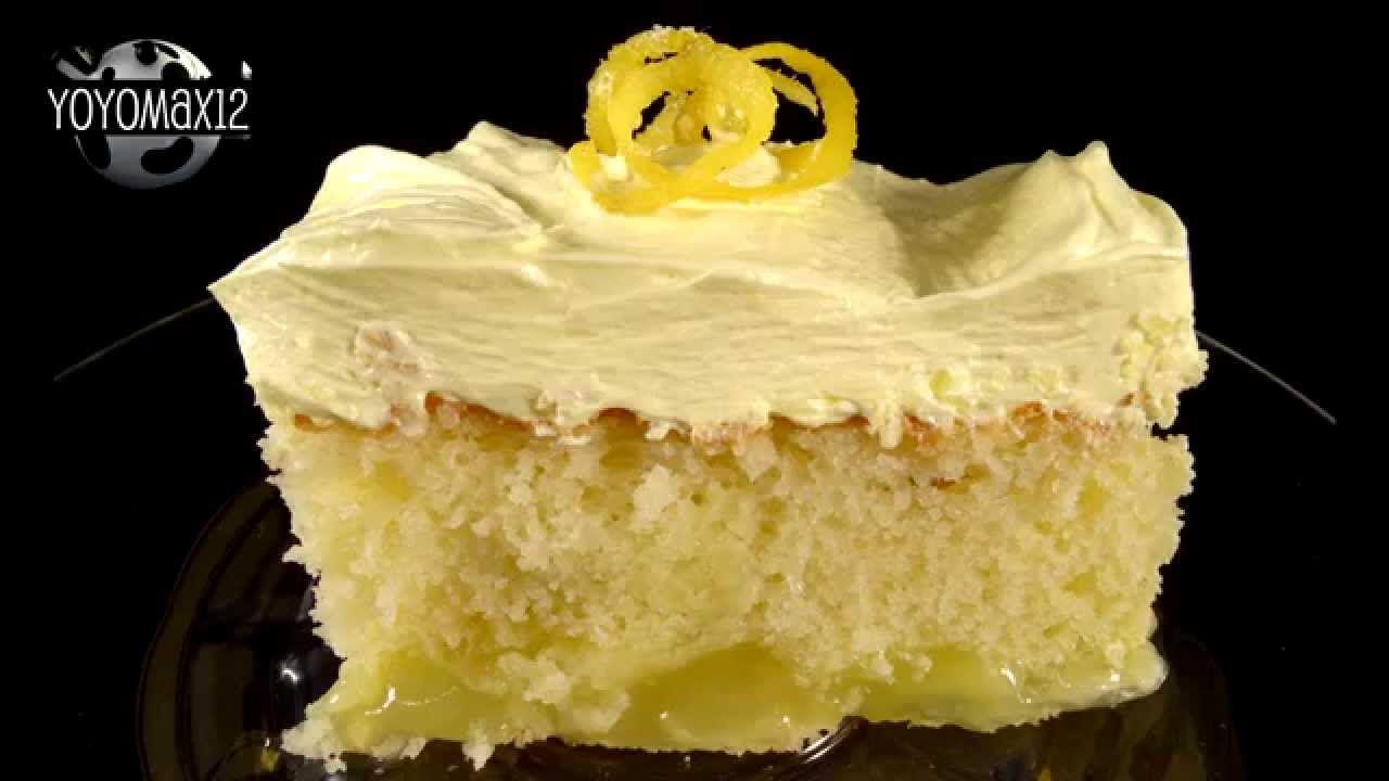 lemon cake using yellow cake mix
