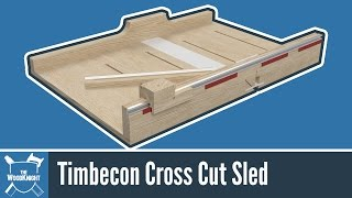 How To Build A Cross Cut Sled (Free Plans)