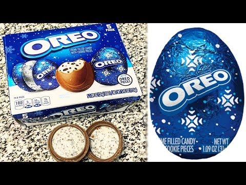 Fisher - Oreo Releases Creme-Filled Eggs For The Holidays