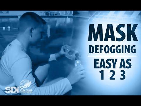 Mask, Snorkel & Fins | Mask DeFogging: Easy as 1-2-3