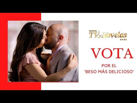 Vota por el 'Beso más delicioso' en los Favoritos del Público de los Premios TVyNovelas 2020