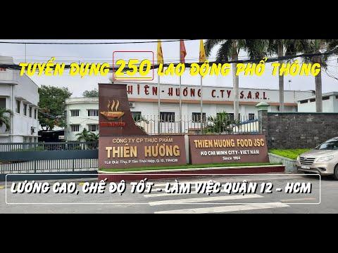 TUYỂN GẤP 250 LAO ĐỘNG PHỔ THÔNG | LÀM VIỆC TẠI QUẬN 12 - TP.HCM | @VIỆC LÀM CNC