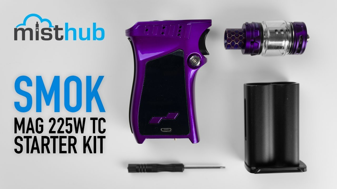 The SMOK Mag Kit 225W TC Unboxing and Quick Product Overview