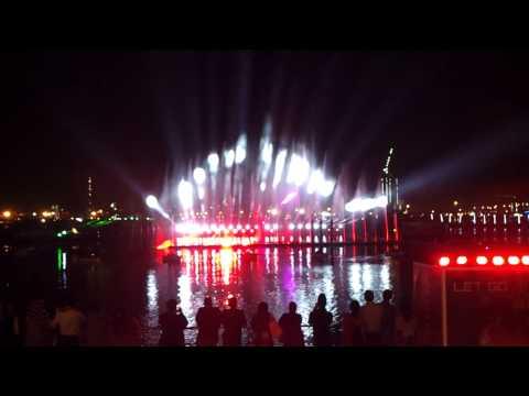 Dubai Festival City Light, Laser, Water Fire Show