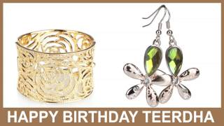 Teerdha   Jewelry & Joyas - Happy Birthday