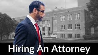 What you need to know before hiring an attorney. Tips from a criminal defense lawyer.
