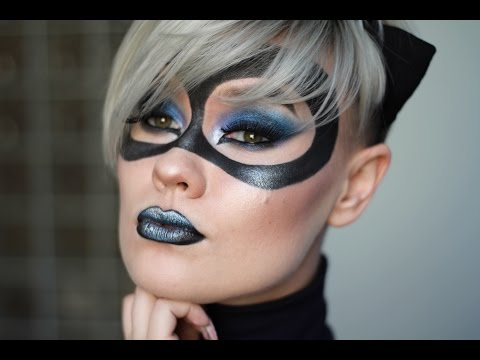 Catwoman Inspired Makeup Tutorial (DC Comics)