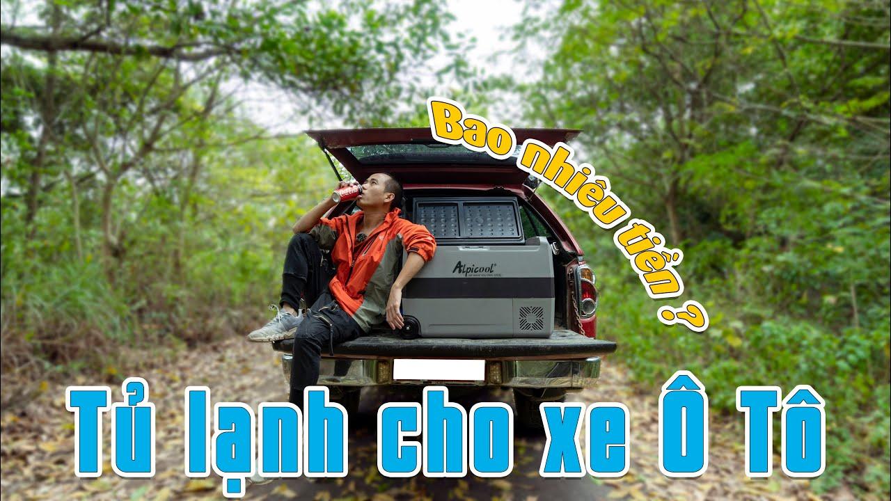 Cận cảnh chiếc tủ lạnh của vlogger Tùng Nếm - Bí kíp xuyên Việt không bị đói