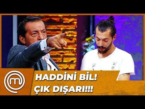Mustafa Stüdyodan Kovuldu | MasterChef Türkiye 25.Bölüm