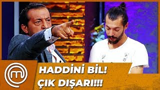 Mustafa Stüdyodan Kovuldu | MasterChef Türkiye 25.