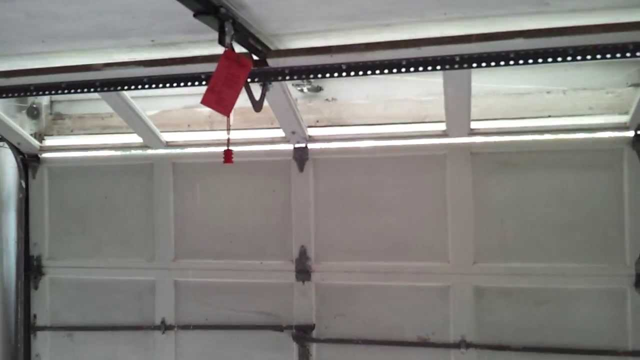 Overhead Door Legacy Garage Door Opener In A For Sale House Youtube