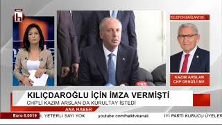 CHP Denizli Milletvekili Kazım Arslan, CHP'deki Kurultay sürecini değerlendirdi
