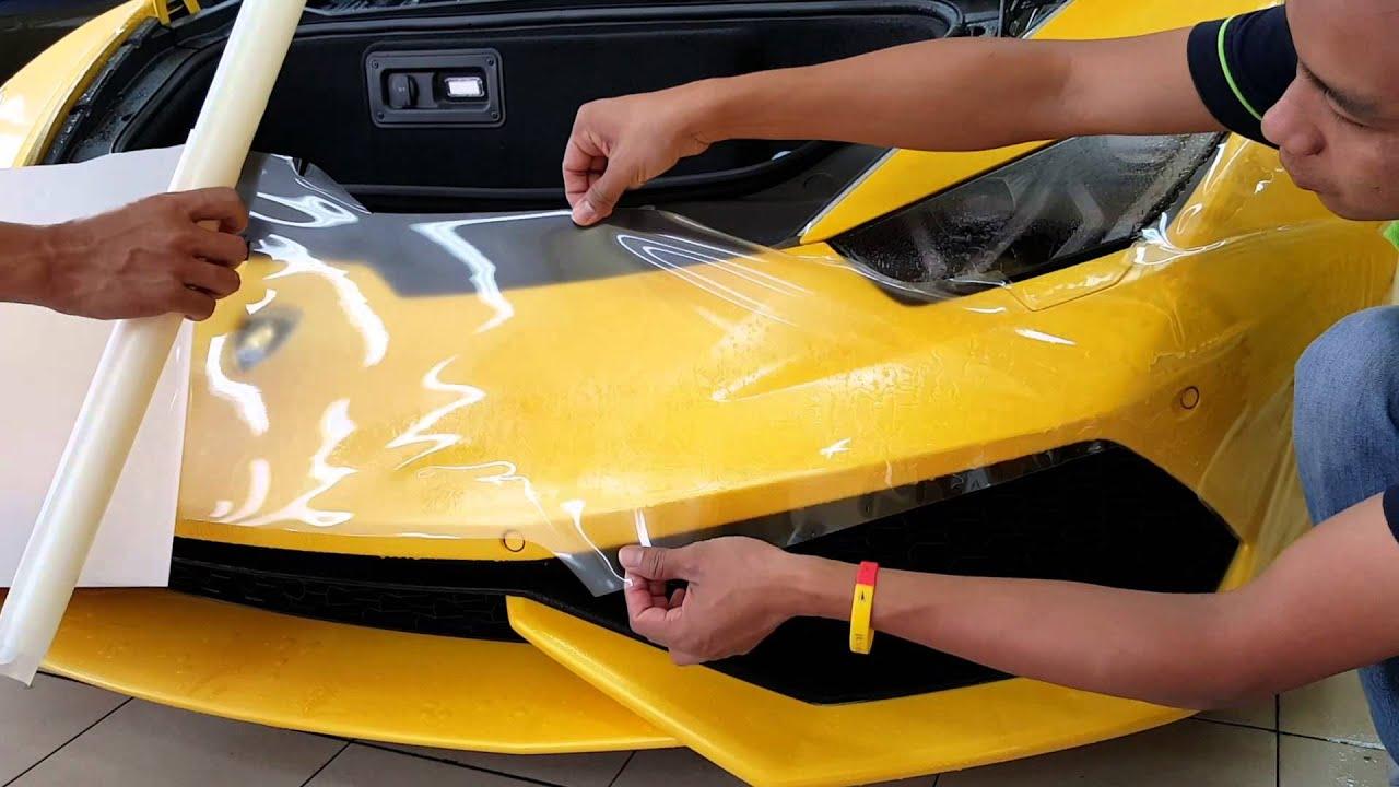 G Guard Malaysia Xpel Paint Protection Film Lamborghini Huracan
