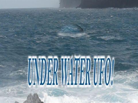 UFO Sightings New Footage Pacific Ocean! Underwater UFO?