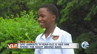 11-year-old arrested by Detroit Police