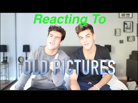 Reacting To Old Pictures of Us!!