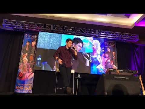 Jared Gilmore OUAT Vancouver 2018 Main Panel Part 1