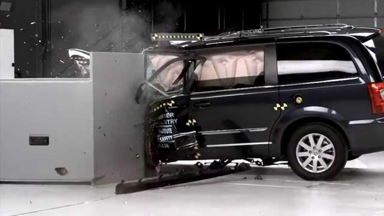 Iihs 2014 Chrysler Town Amp Country Dodge Grand Caravan