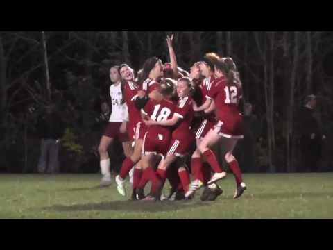 Girls Soccer Class A North Regional Final Highlights with (2) Camden vs. (1) Bangor