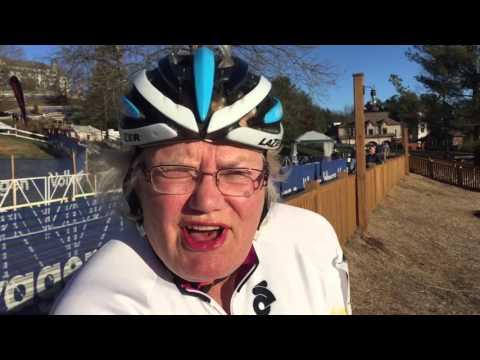 Nancy Brown 70-74 2016 Cyclocross National Champion