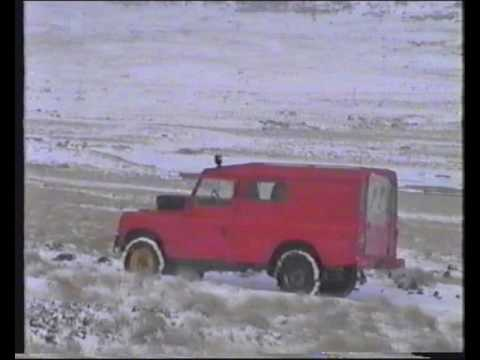 Port Stanley area & the drive back from Stanley to RAF Mount Pleasant filmed 1995