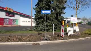 Neue Corona-Teststation als Drive-In in Wittlich