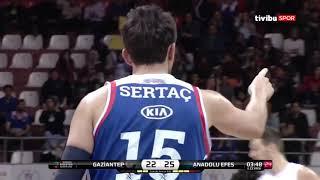 #BSL 23. Hafta: Gaziantep Basketbol - Anadolu Efes
