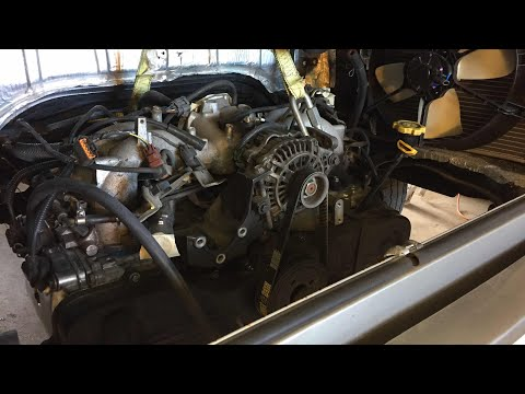 Subaru engine sits in VW Bus - Daily Driver VLOG 6/23/17 - YouTube