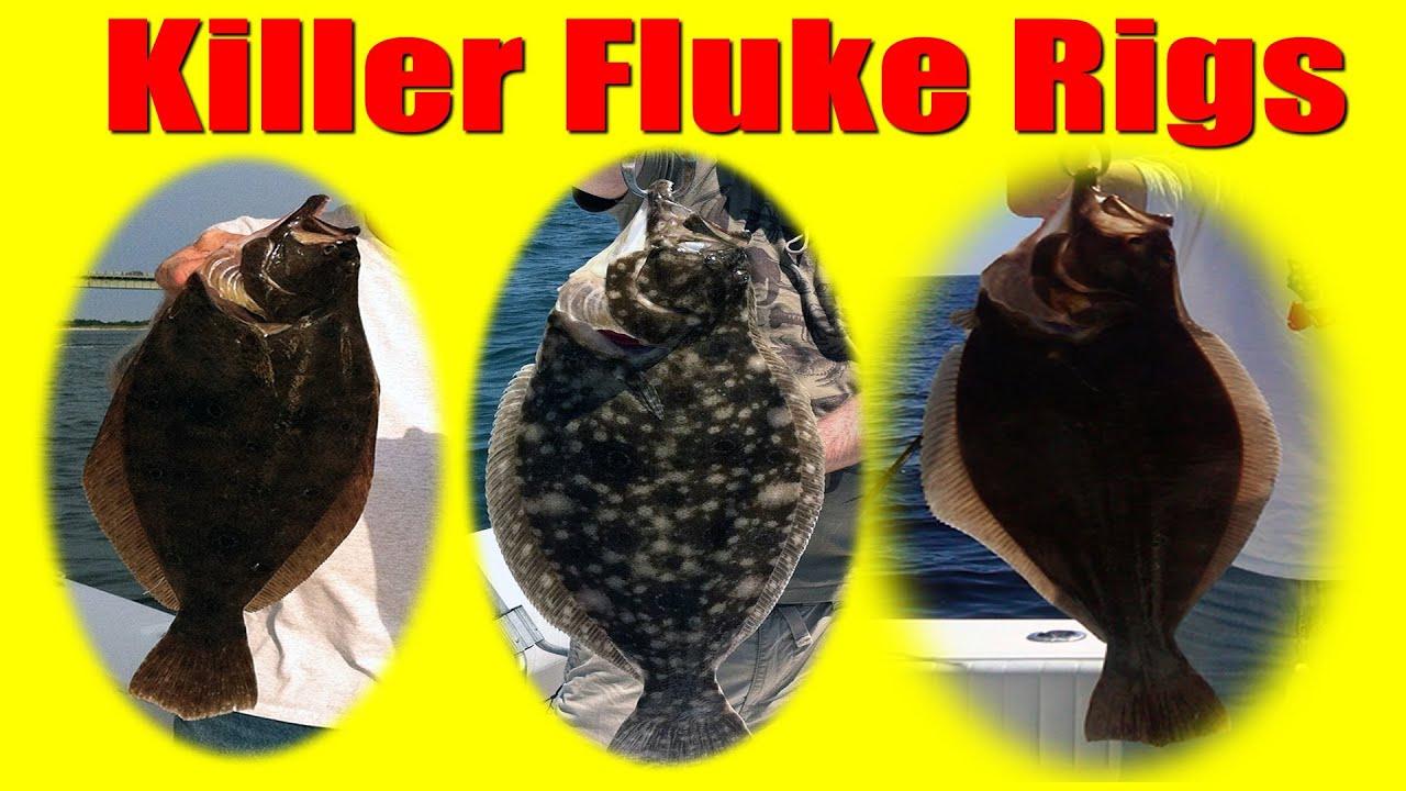 Fluke fishing how to tie killer fluke rigs summer for Flounder fishing rigs
